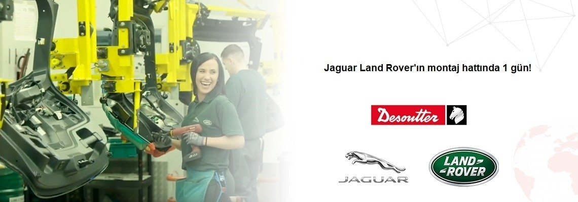 Spędź dzień przy linii montażowej w fabryce Jaguar Land Rover!