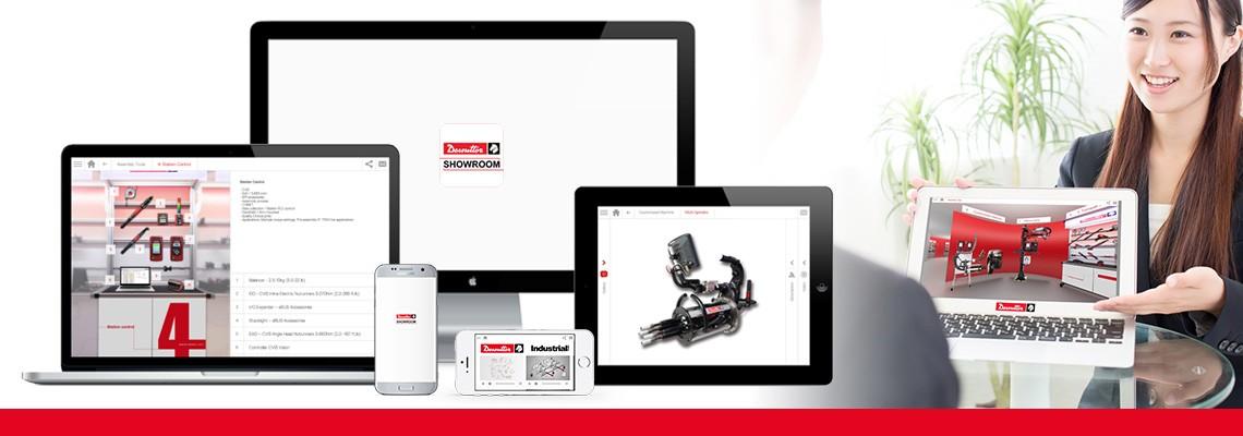 Pobierz aplikację Showroom, aby obejrzeć wszystkie nasze rozwiązania montażowe i do wiercenia na zdjęciach i filmach. Firma Desoutter zawsze jest po Twojej stronie, nawet w internecie.