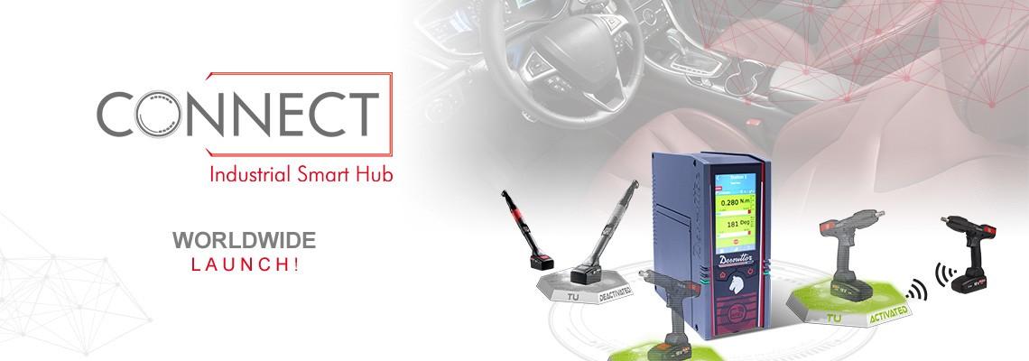 Z dumą przedstawiamy nasze nowe inteligentne centrum zarządzania CONNECT: rozwiązanie Desoutter 4.0!
