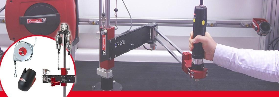 Aby zwiększyć wydajność swoich narzędzi i stacji roboczych. Firma Desoutter Narzędzia Przemysłowe oferuje szeroki asortyment produktów. Skontaktuj się z nami, aby zamówić pokaz.