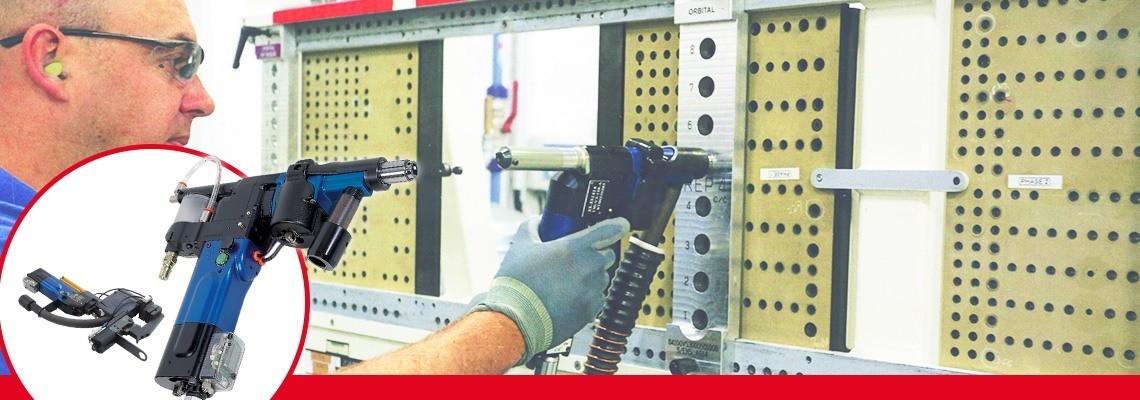 Zaawansowane pneumatyczne jednostki do wiercenia z linii Seti-Tec są przeznaczone do półautomatycznych prac przy montażu sprzętu lotniczego.