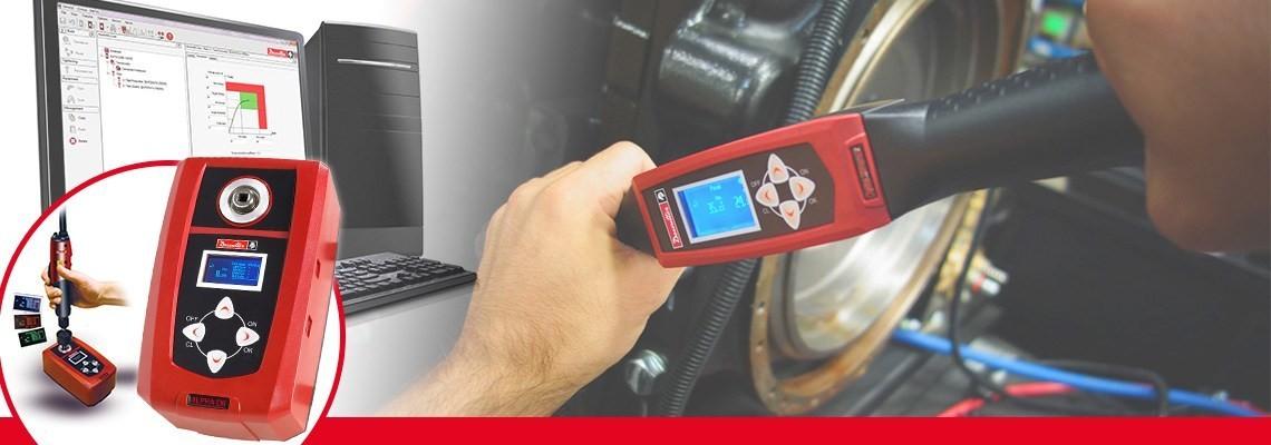 Cyfrowy tester momentu obrotowego Alpha zaprojektowany przez firmę Desoutter Narzędzia Przemysłowe umożliwia monitorowanie i zapisywanie wyników prób momentu obrotowego śrubokrętów, kluczy dynamometrycznych i kluczy zapadkowych.