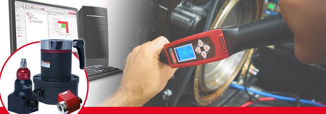 Firma Desoutter Narzędzia Przemysłowe zaprojektowała kompletny asortyment przetworników momentu obrotowego do pomiaru momentu obrotowego na wyjściu dowolnego narzędzia montażowego bez udaru.