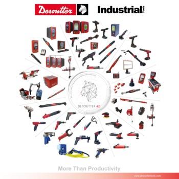 Plakat firmy Desoutter Narzędzia Przemysłowe